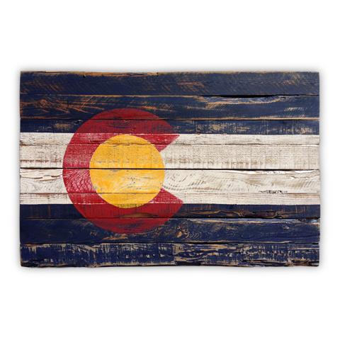 Colorado Vintage Flag